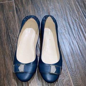 Calvin Klein jeans round toe ballet flats